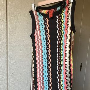 Missoni Sweater Dress - Zig Zag Chevron Size XL